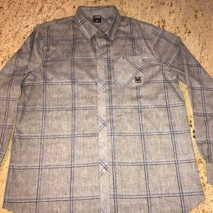 Zoo York Excelsior Size 2XB Long Sleeve Gray MINT